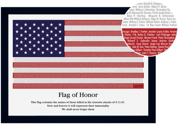 Flag of Honor (credit: Flag of Honor Fund)